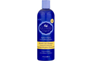 Hask Blonde Care Shampoo Blue Chamomile & Argan Oil