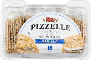 Reko Pizzelle Italian Waffle Cookie Vanilla