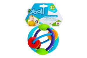 Іграшка-прорізувач для дітей від 3міс №81154 Крути-верти Oball 1шт