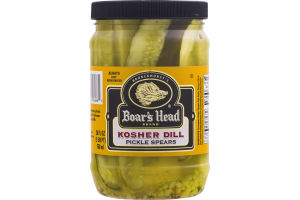 Boar's Head Kosher Dill Pickle Spears