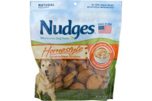 Nudges Wholesome Dog Treats Homestyle Chicken Pot Pie Flavor