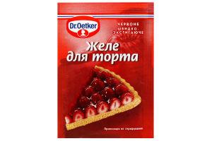 Желе для торта красное Dr.Oetker 8 г