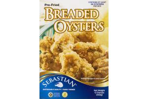 Sebastian Pre-Fried Breaded Oysters