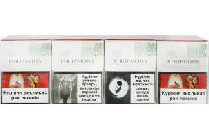 Сигареты с фильтром Red Philip Morris 25шт