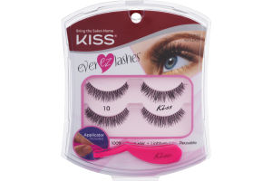 Kiss Ever EZ Lashes 10 - 4 CT