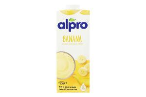 Напій соєво-банановий Alpro т п 1л
