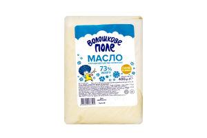 Масло 73% солодковершкове Селянське Волошкове поле м/у 400г