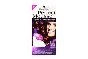 Краска-мусс для волос Perfect Mousse №586 Schwarzkopf