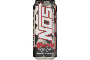 NOS Rowdy High Performance Energy Drink
