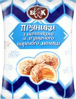 Пряники з начинкою зі згущеного молока БКК м/у 240г