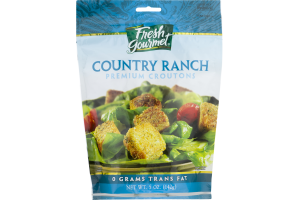 Fresh Gourmet Premium Croutons Country Ranch