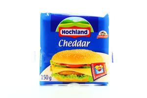 Сир Hochland плавлений тост Чеддер 44% 150г Польща х32