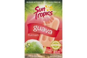 Sun Tropics Guava Fruit Bars - 4 CT