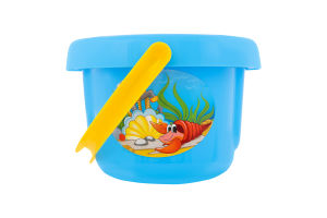 Іграшка для дітей від 3років №0675 Відро велике Пісочниця Polesie 1шт