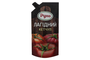 Кетчуп Мягкий Руна д/п 300г