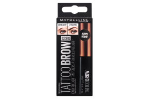 Гель-тинт для бровей Brow Tattoo коричневый Maybelline 4.6г