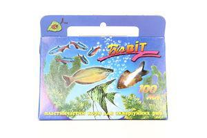 Корм д/риб сух.пласт.Природа БіоВіт 100г