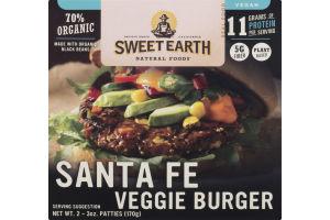 Sweet Earth Natural Foods Santa Fe Veggie Burger - 2 CT