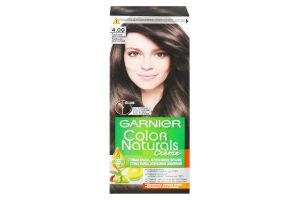 Крем-фарба для волосся стійка №4.00 Creme Color Naturals Garnier