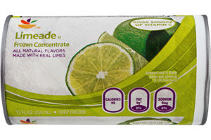 Ahold Frozen Concentrate Limeade