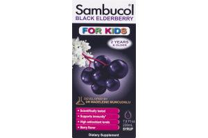 Sambucol For Kids Dietary Supplement Black Elderberry