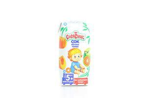Сок для детей от 5мес Яблоко-тыква Спелёнок т/п 0.2л