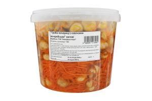 Салат закусочний Гриби печериці з овочами по-корейськи Ноосфера-Агро кг