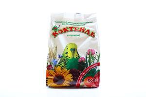 Корм Коктейль Суперменю для декоративних птахів 500г