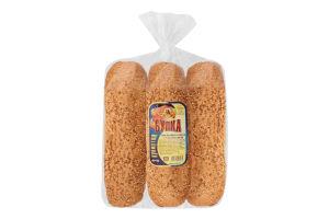 Булка бутербродна з кунжутом Нове діло м/у 3х80г