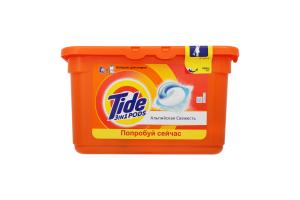 Засіб миючий синтетичний Tide рідк капсул Альп свіж 12*25,2г