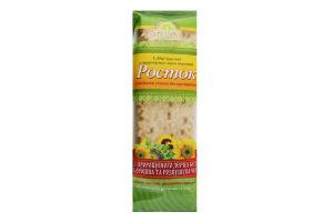Хлебцы хрустящие из пророщенных зерен пшеницы с семенами подсолнечника и кунжутом Росток м/у 120г
