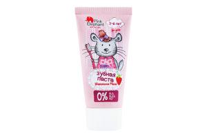 Паста зубная для детей 3-6лет Шиншилла Мила Pink Elephant 50мл