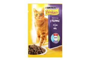 Корм для взрослых котов с ягненком в подливке Friskies м/у 100г