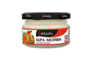 Икра мойвы деликатесная в соусе Veladis с/б 180г