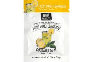 Project 7 Gourmet Gum Front Porch Lemonade - 12 CT