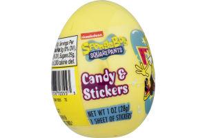 Nickelodeon SpongeBob SquarePants Candy & Stickers