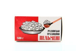 Пельмені Похитайло Радянські традиційні 500г х20