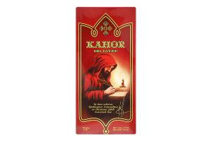 Вино 1л 13% червоне солодке зі смаком чорносливу Церковне Kahor т/п