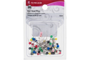 Singer Ball Head Pins