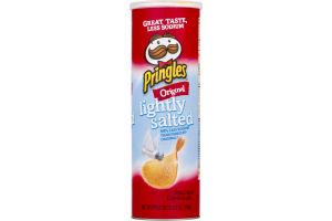 Pringles Potato Chips Lightly Salted Original