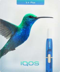 Система електричного нагрівання тютюну Айкос з блютуз Айкос 2.4. Р синій