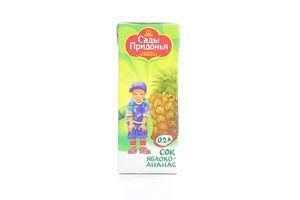 Сок яблочно-ананасовый Сады Придонья 200мл