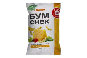 Палички кукурудзяні солоні зі смаком сиру Бум Снек Бумкорн м/у 30г