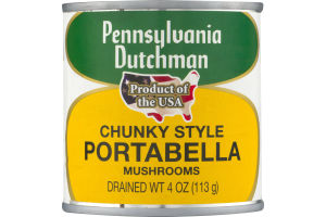 Pennsylvania Dutchman Chunky Style Portabella Mushrooms