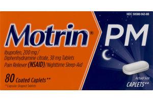 Motrin PM Coated Caplets - 80 CT