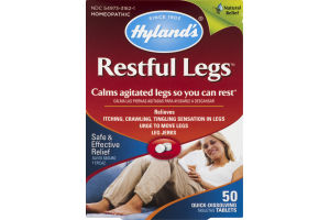Hyland's Restful Legs Dissolving Tablets - 50 CT
