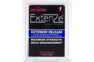 Extenze Maximum Strength Male Enhancement - 15 CT