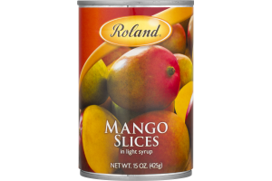 Roland Mango Slices in Light Syrup