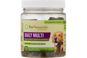 PetNaturals of Vermont Daily Multi Chews - 50 CT