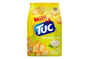 Крекер солоний Sour cream&Onion Mini Tuc м/у 100г
